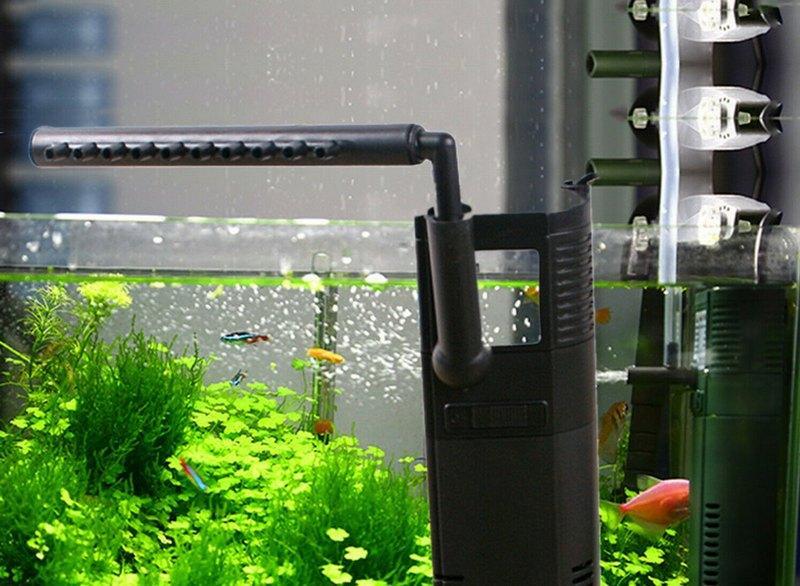 Для механической очистки воды следует приобрести аквариумный фильтр