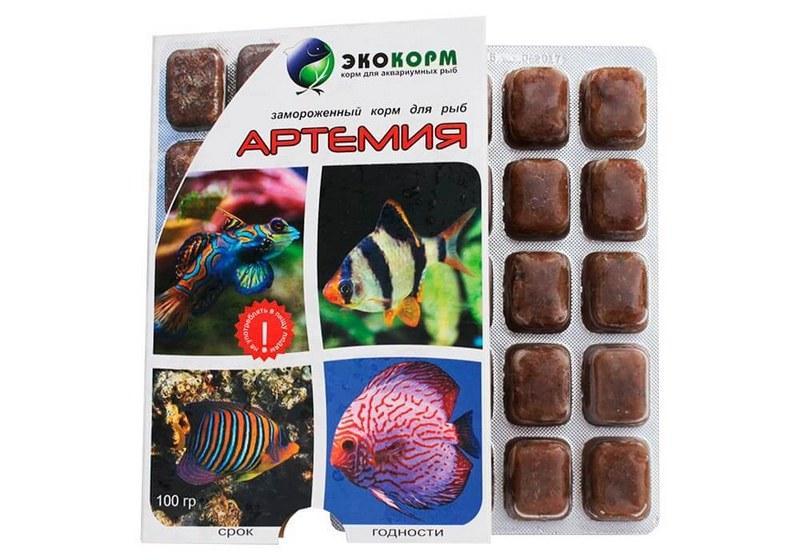 Артемия - корм для аквариумных рыб