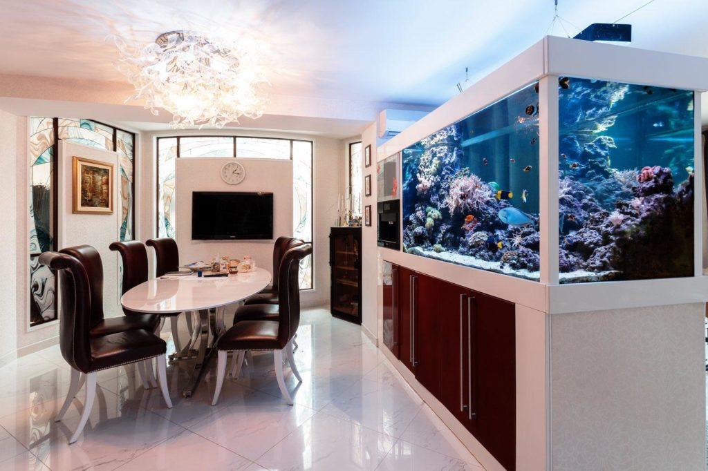 Декоративные аквариумы1