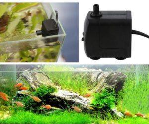 Помповый насос максимально приблизит аквариумные условия обитания к природным