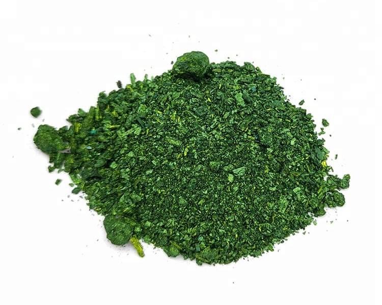 Малахитовый зеленый порошок