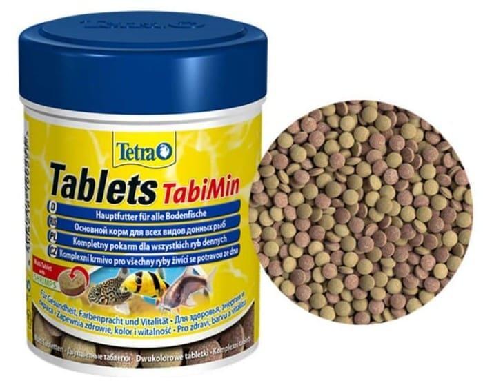 Сухой корм в таблетках для донных рыб